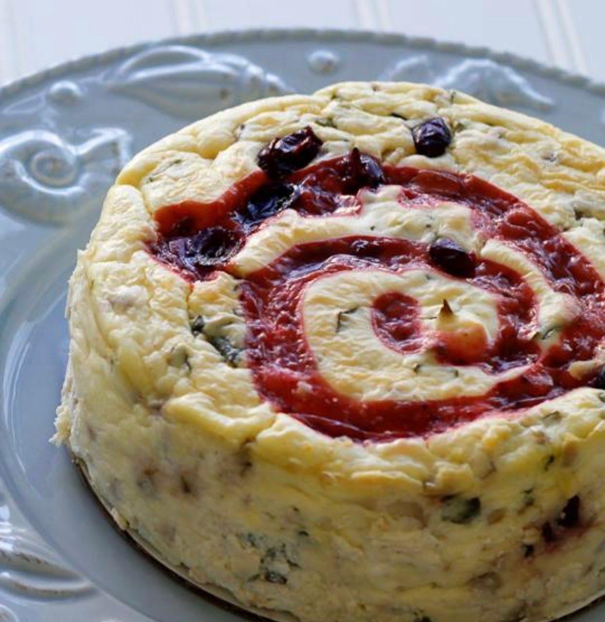 Wicked Kickin' Savory Cheesecakes image 0