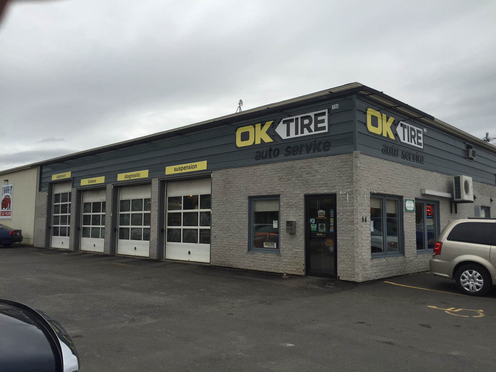 Ok tire new liskeard on ourbis for Garage autocash saint maur
