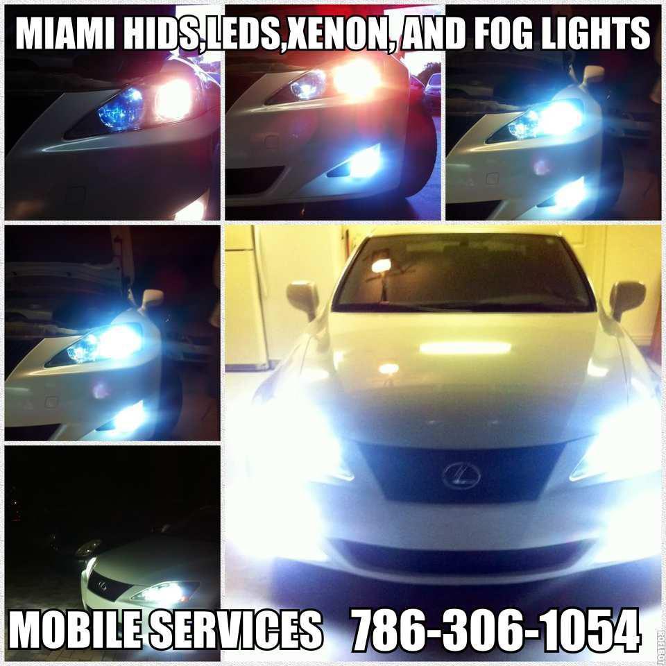 Miami Car Alarm- Hid- Led kit & Stereos Smoking tail lights(discounts) image 4
