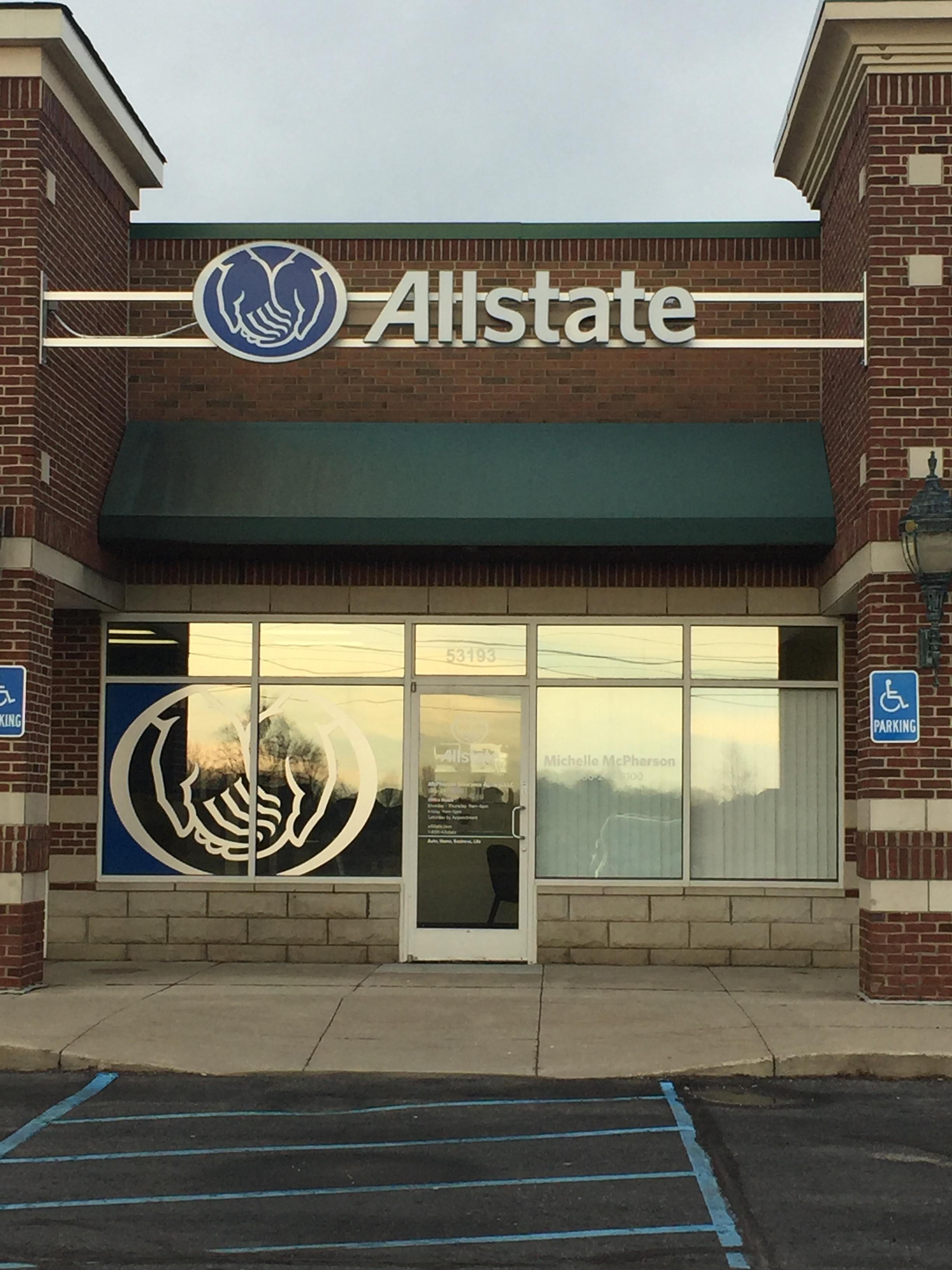 Allstate Insurance Agent: Michelle McPherson image 1