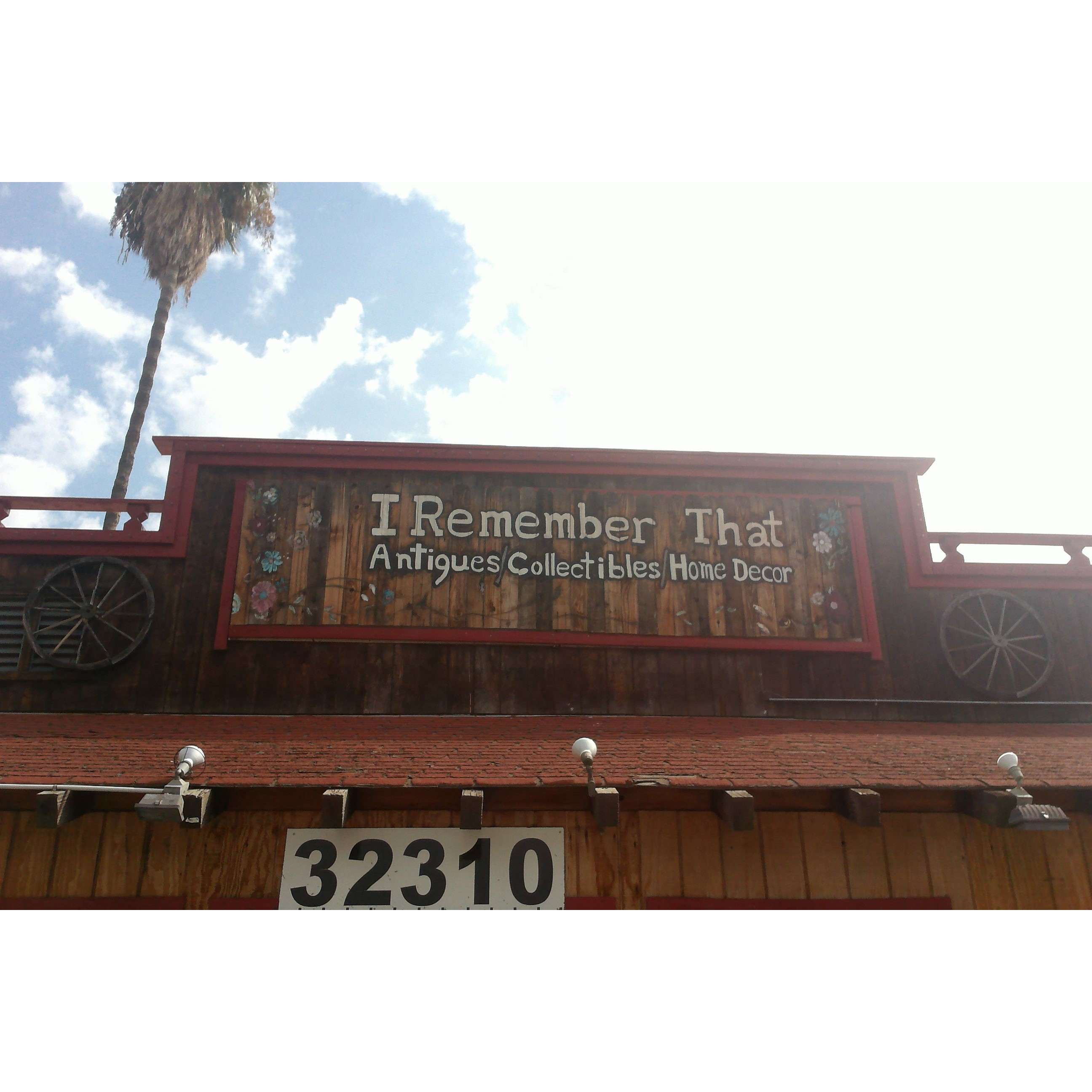 """I Remember That """"Antiques And Collectibles"""" - Lake Elsinore, CA 92530 - (337)321-1584 