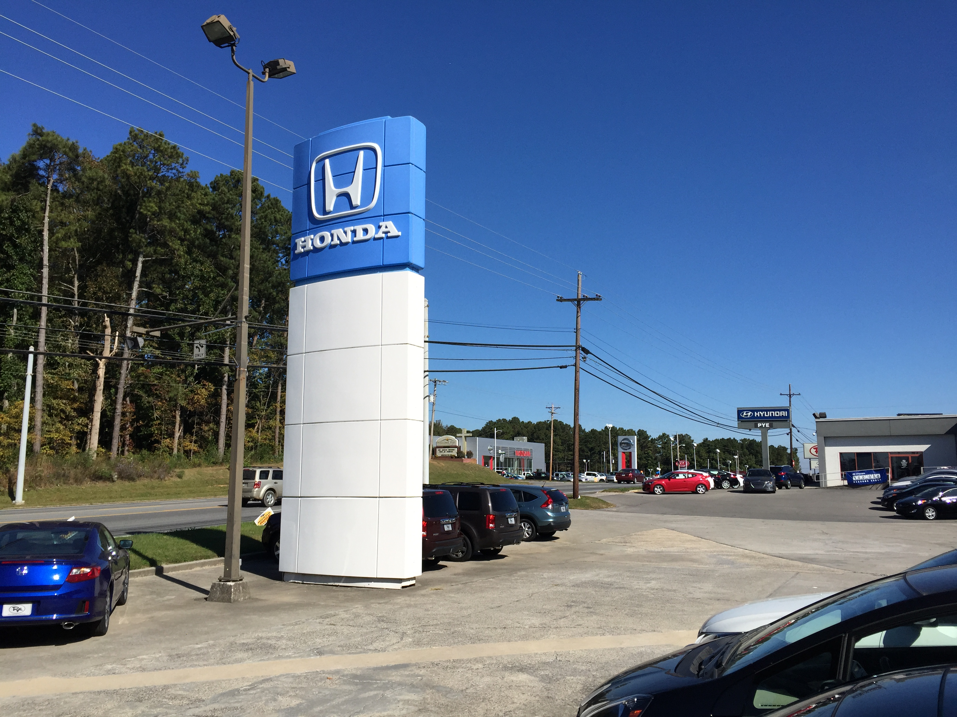 Pye Nissan in Dalton GA
