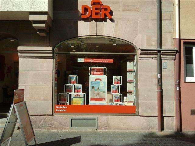 DER Deutsches Reisebüro, Kopernikusplatz 36 in Nürnberg