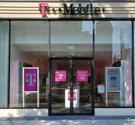 Exterior photo of T-Mobile Store at Connecticut Ave NW & M St NW, Washington, DC