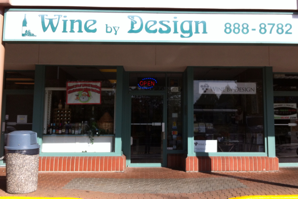 Wine By Design in Langley