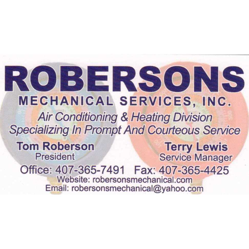 Robersons Mechanical Services Inc.