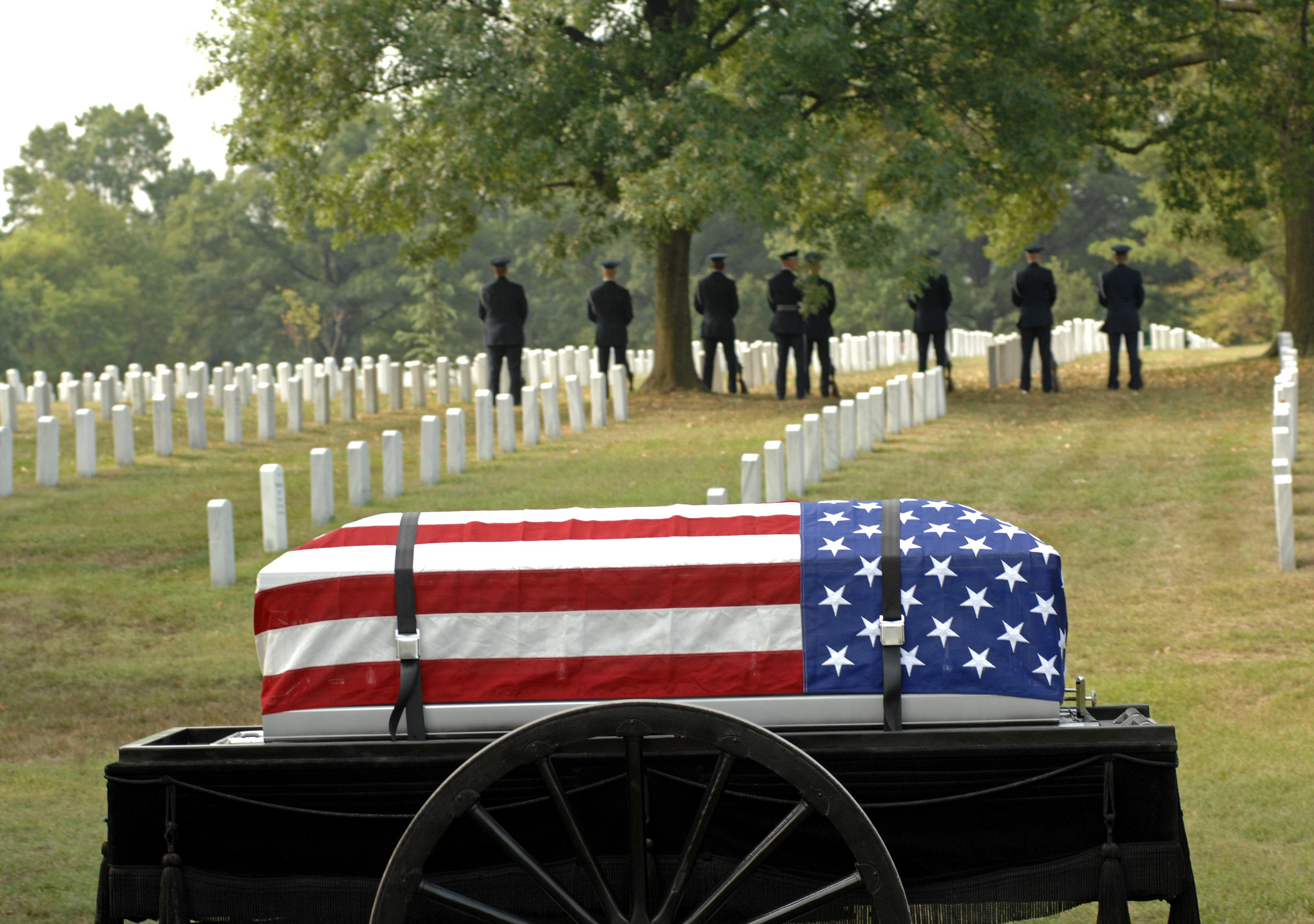 Local Cremation works closely with National Cemeteries.