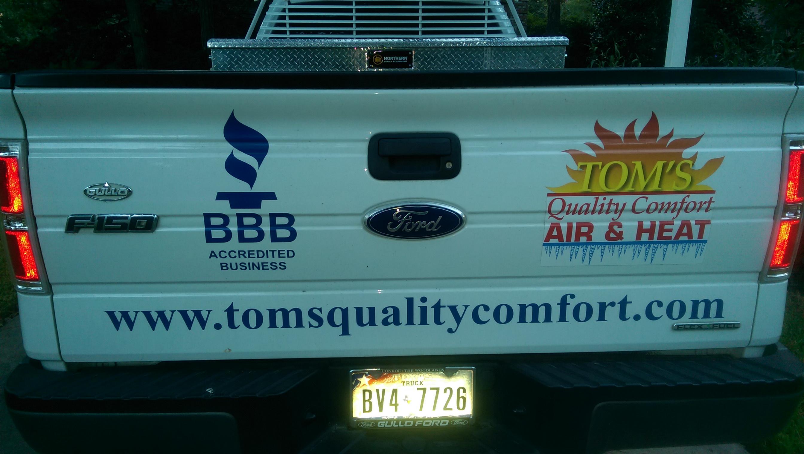 Tom's Quality Comfort Air & Heat image 14