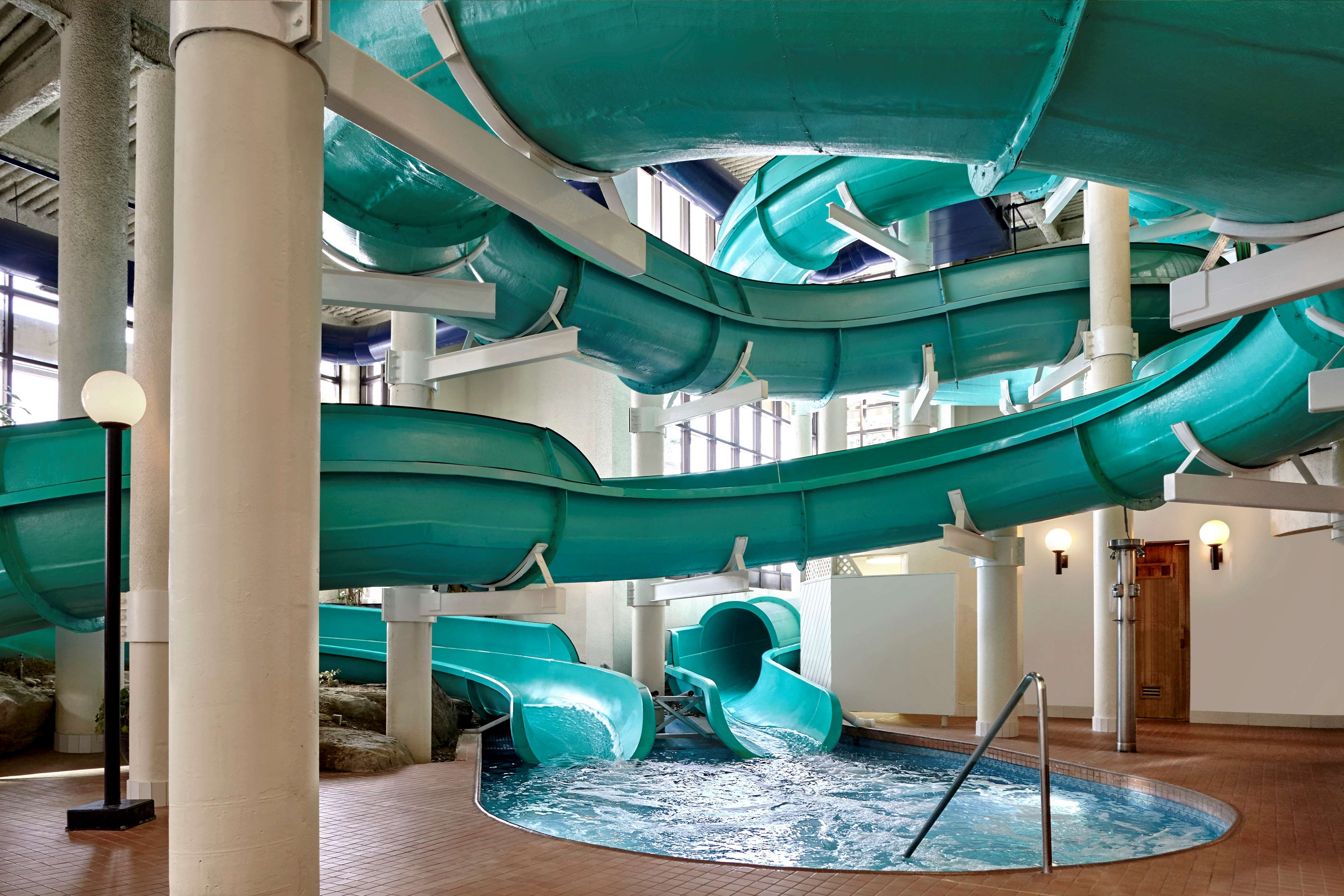 Sheraton Cavalier Calgary Hotel in Calgary: Oasis Water Park Water Slides - Sheraton Cavalier Calgary Hotel
