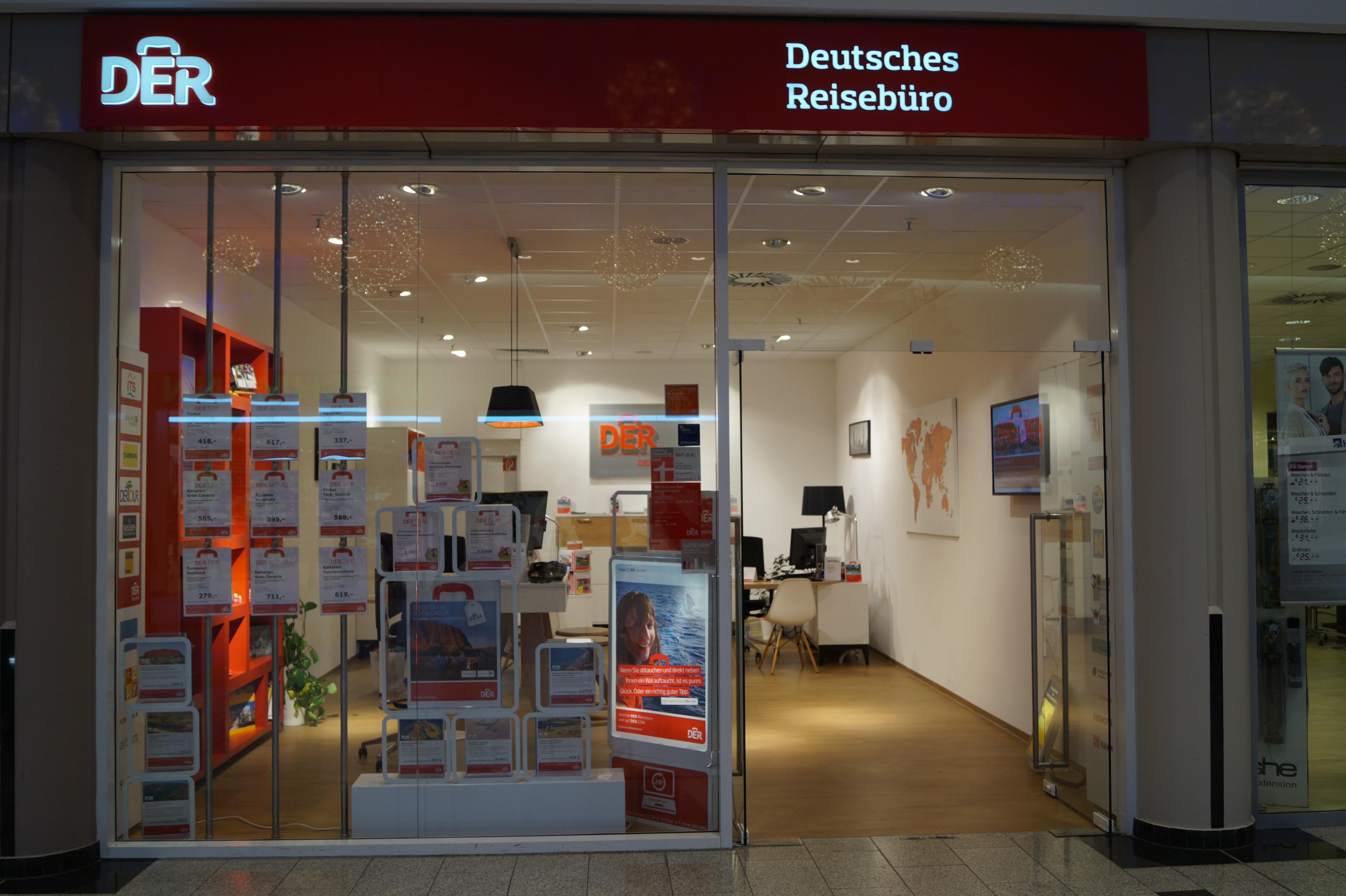 DER Deutsches Reisebüro, Hans-Bredow-Straße 19 in Bremen