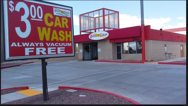 Quick N Clean Car Wash - N. TUCSON AZ