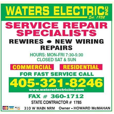 Waters Electric Inc.