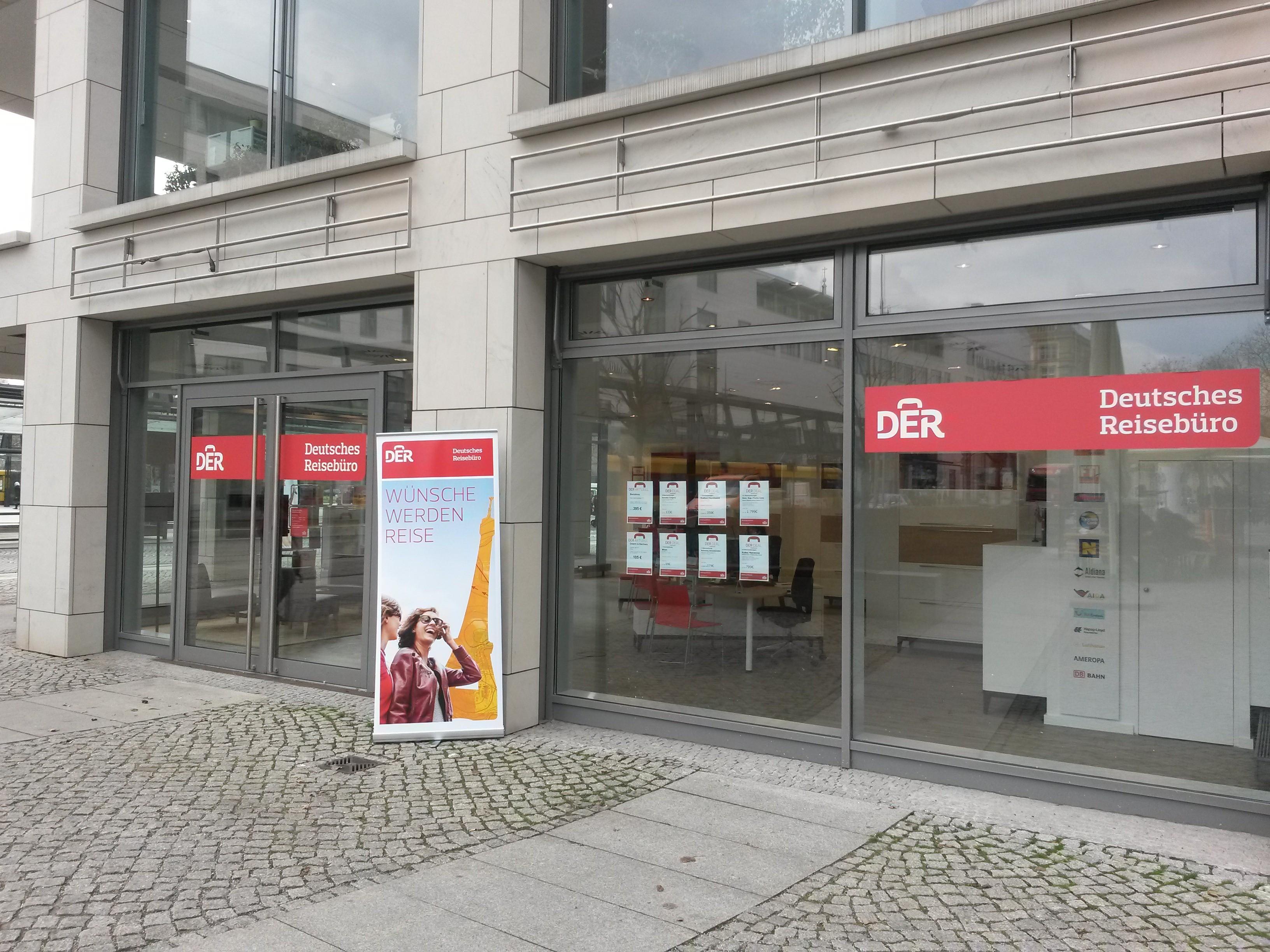 DER Deutsches Reisebüro, Postplatz 1 in Dresden