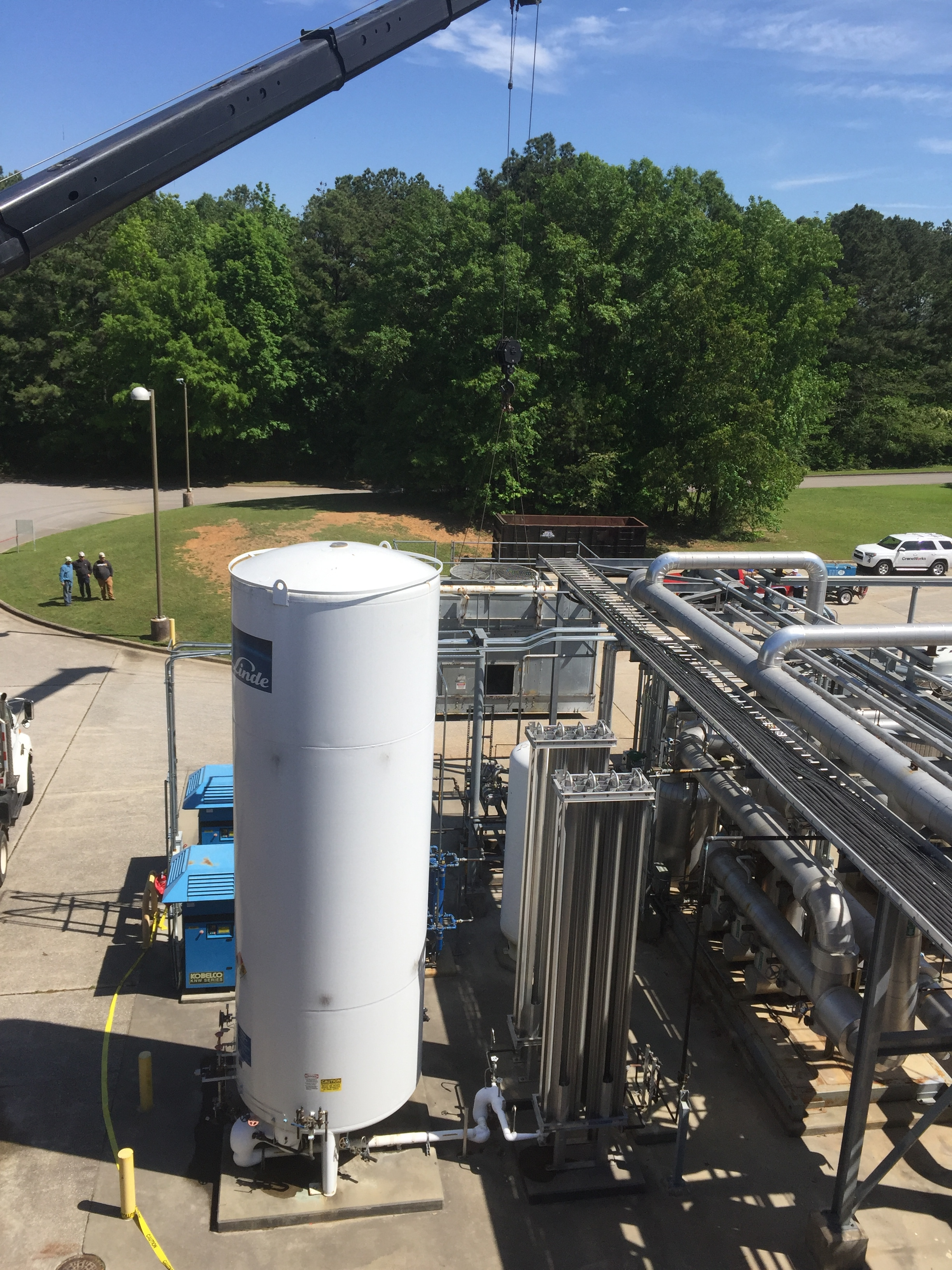 Evonik Cooling Tower Replacement