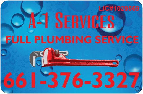 A 1 Services Plumbing Water, Gas & Sewer image 0