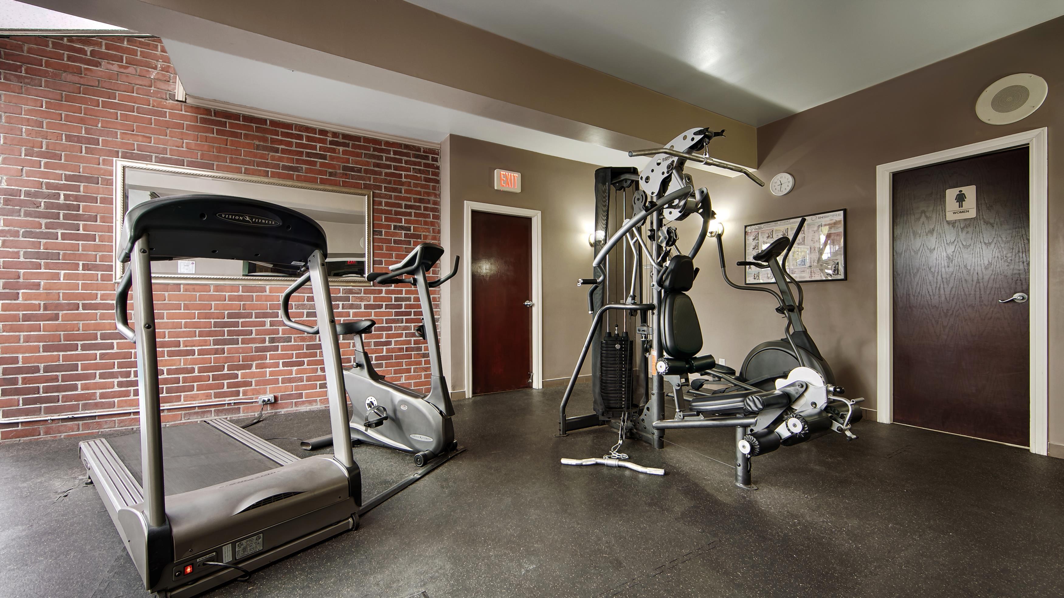Best Western Chelsea Inn in Coquitlam: Fitness Center