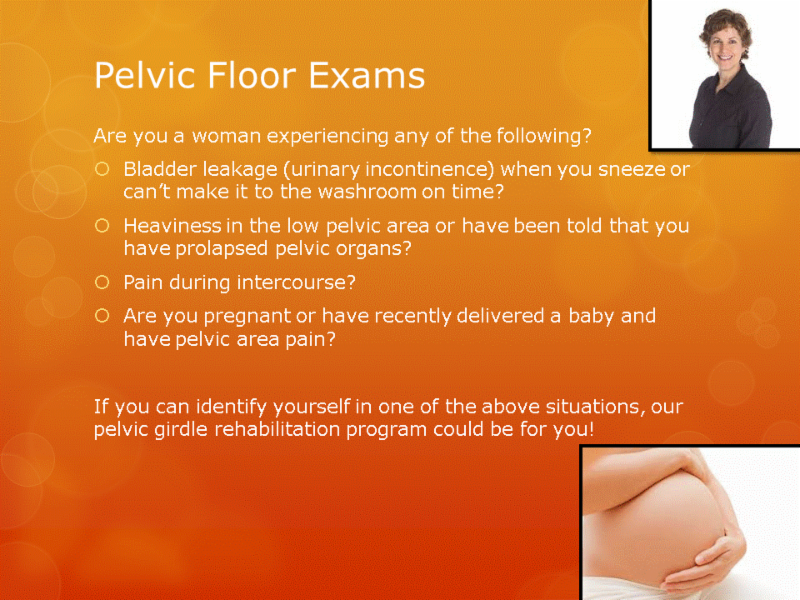 Human Performance Centre in Saint John: If you are a woman that can identify yourself in any of these situations, our pelvic girdle rehabilitation program could be for you!