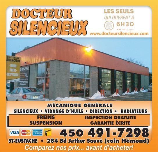 Docteur Silencieux à Saint-Eustache