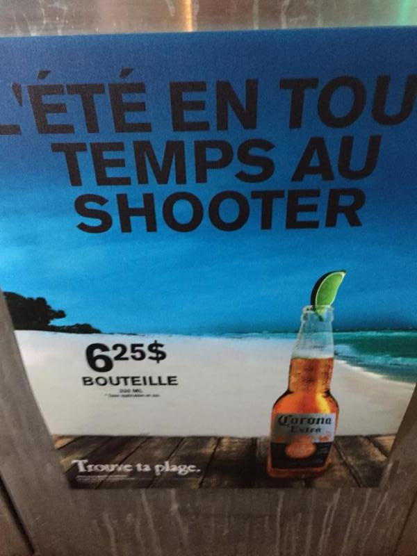 Bar Le Shooter à Sherbrooke