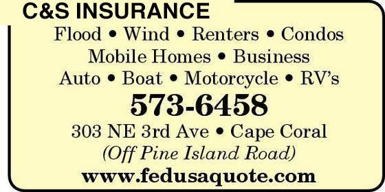 C & S Insurance® | Insurance Quotes | Serving For All Florida - Cape Coral - Fort Myers