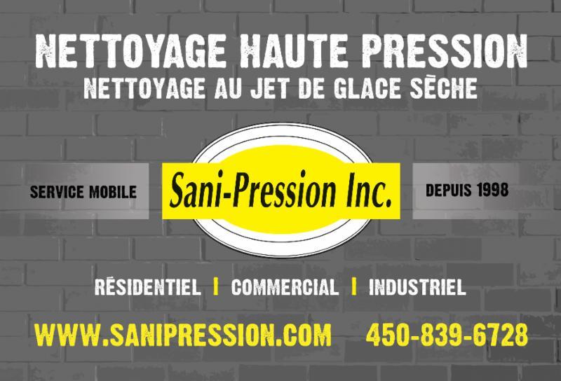 Sani Pression Inc à St-Jacques