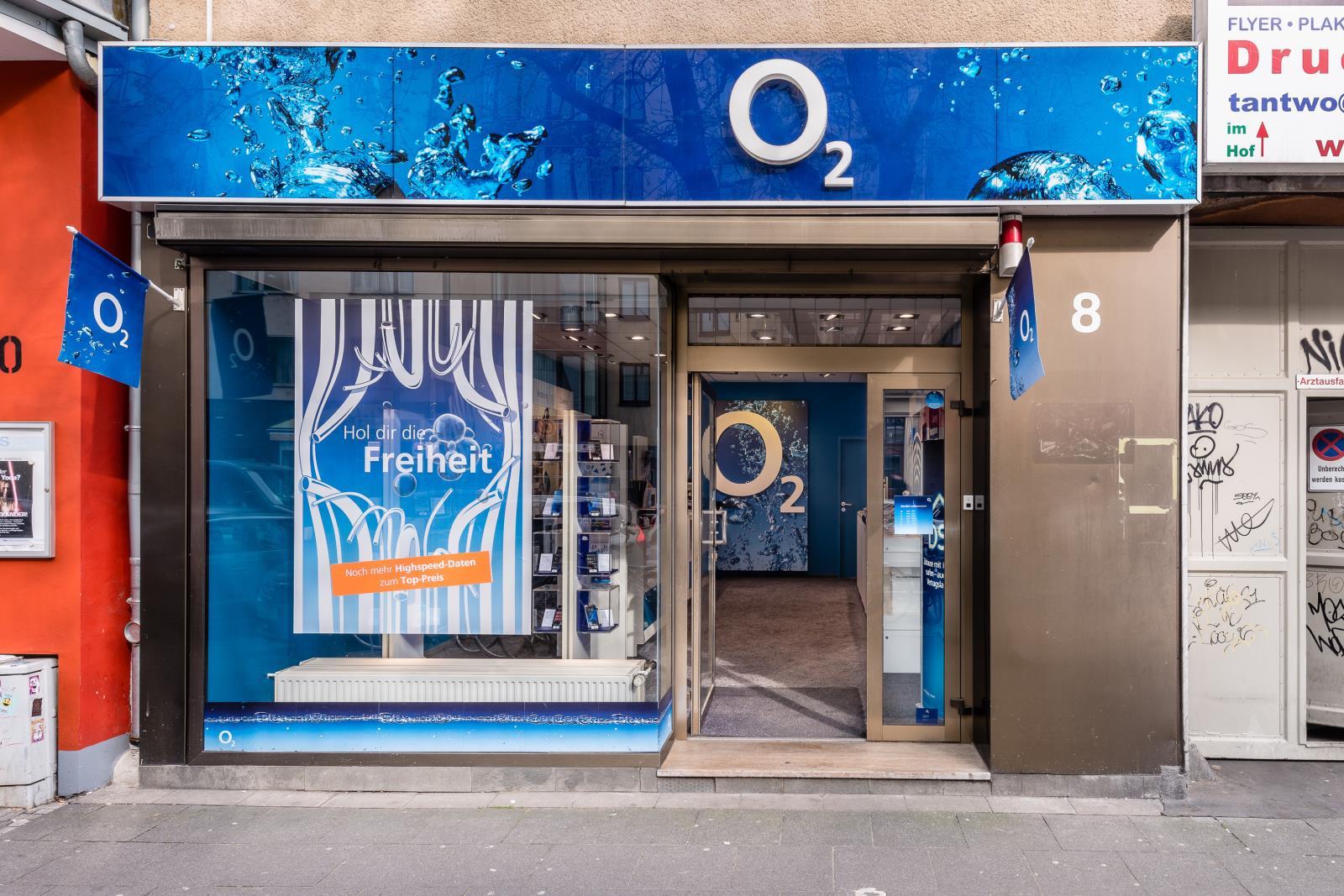 o2 Shop, Neusser Str. 8 in Köln