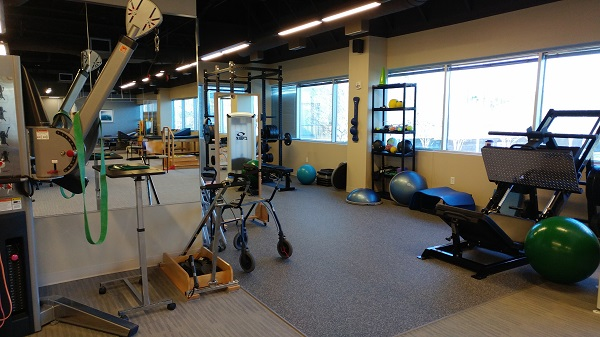 Providence Health's Outpatient Physical Therapy and Occupational Therapy and Speech Therapy Center has a wide range of equipment to treat a variety of conditions., , Physical Therapist