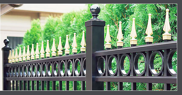 C. Palmer Die Casting, Inc. knows that a fence can be changed from strictly utility to beauty and function depending on the quality and sophistication of its die cast accents.