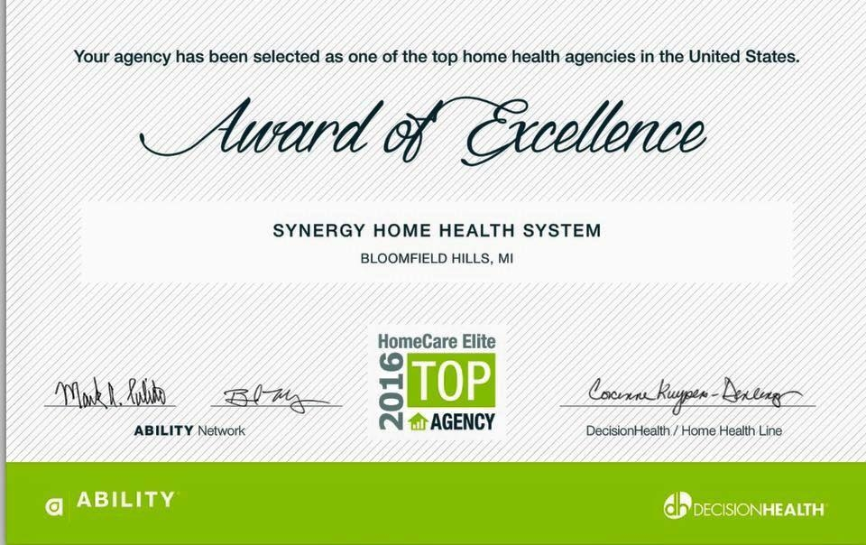 SYNERGY HOME HEALTH SYSTEM image 2