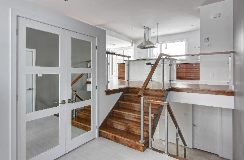 Escaliers Pierre Houle à Saint-Boniface