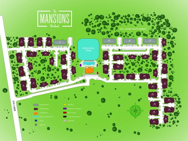 The Mansions Woodland image 48