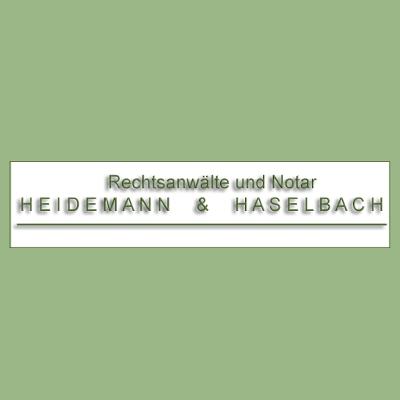 Logo von Rechtsanwälte und Notar Heidemann & Haselbach