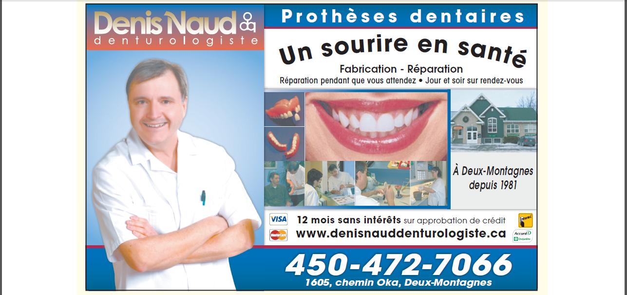 Denis Naud Denturologiste