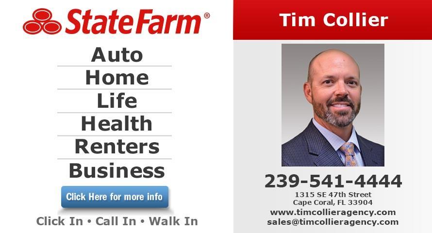 Tim Collier State Farm Insurance Agent 1315 Se 47th Street Cape