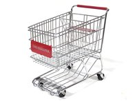 Red Dreamkeeper Shopping Cart