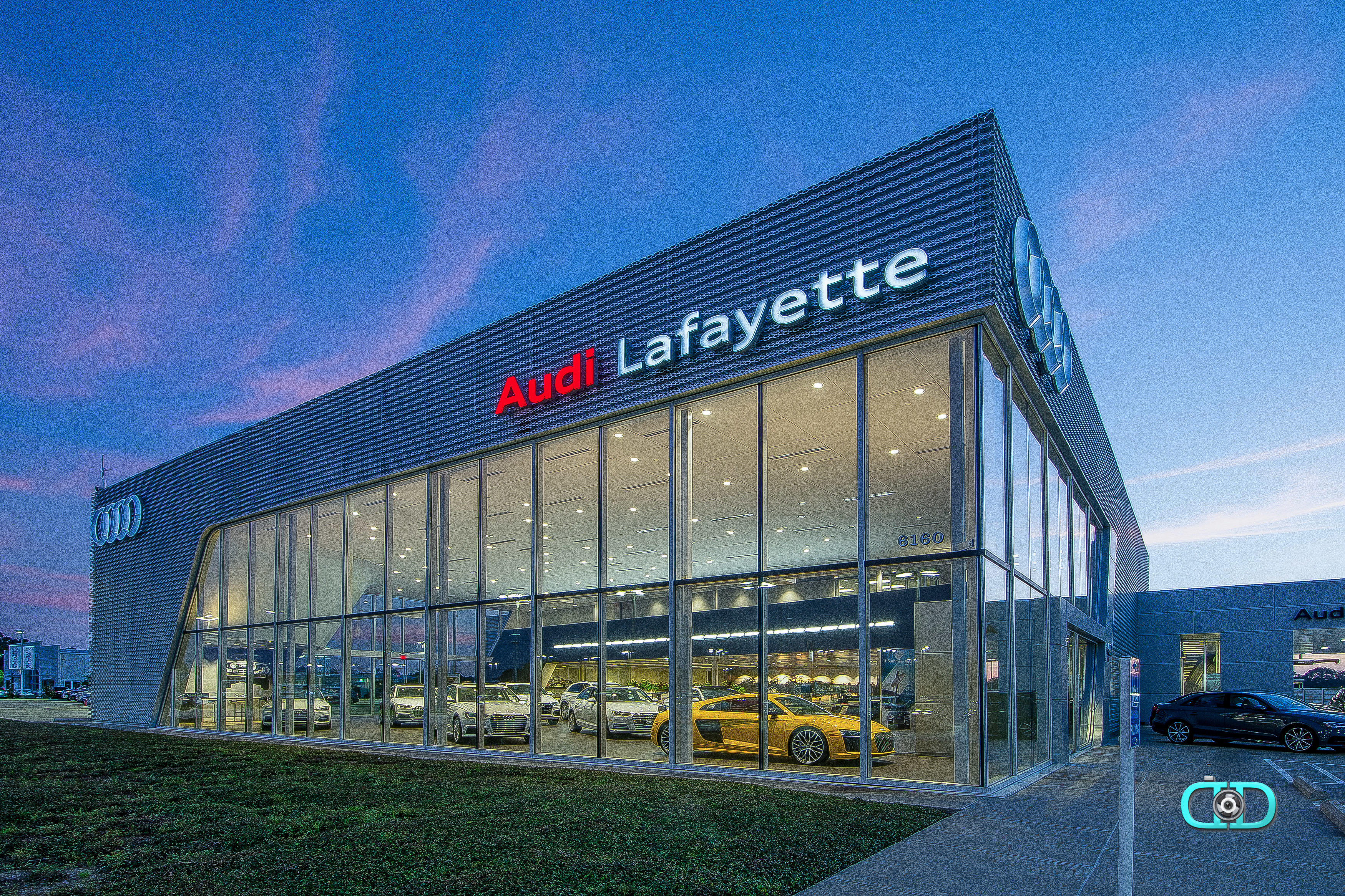 audi lafayette 6160 johnston st lafayette la auto dealers mapquest. Black Bedroom Furniture Sets. Home Design Ideas