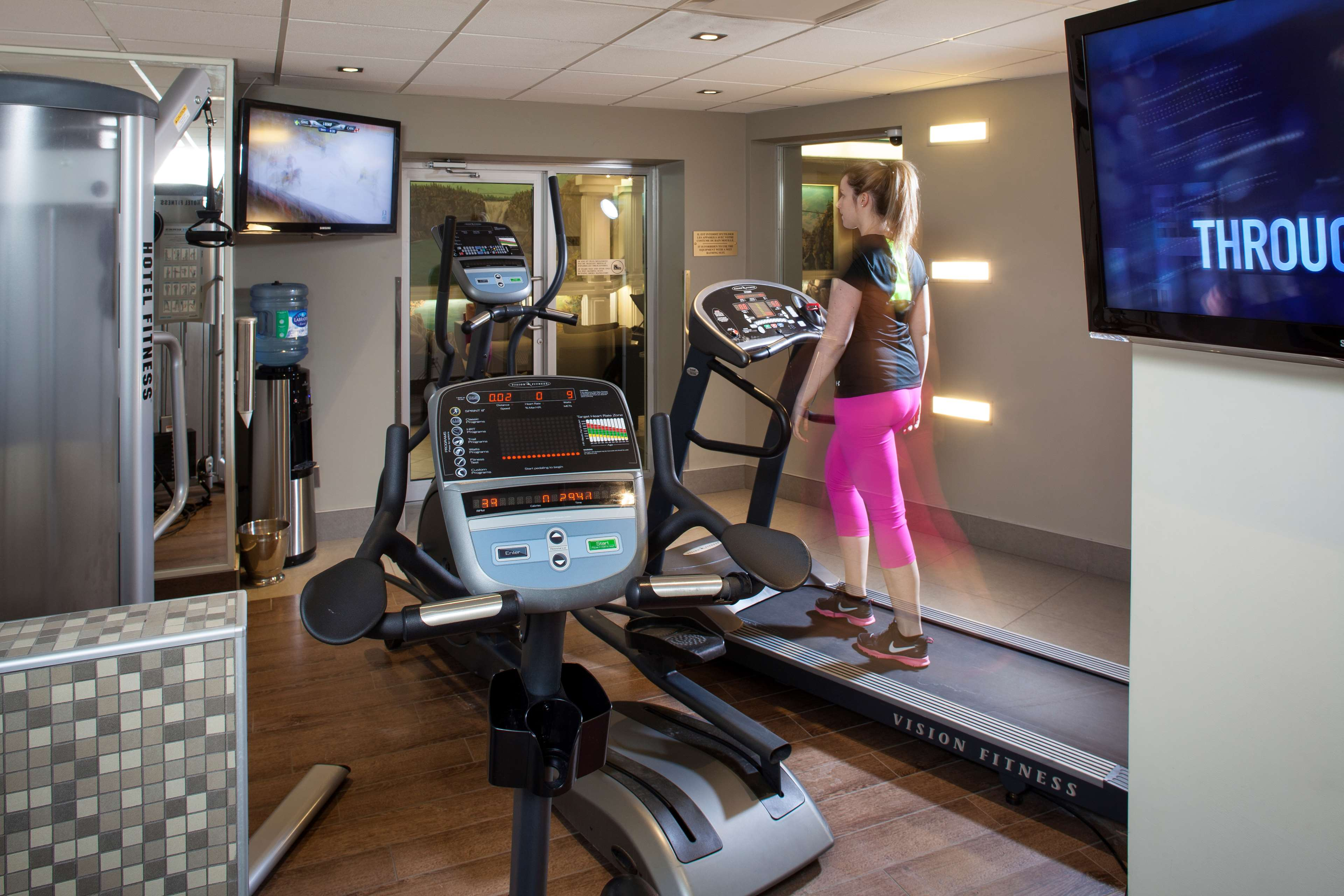 Best Western Plus City Centre/Centre-Ville à Quebec: Fitness Center