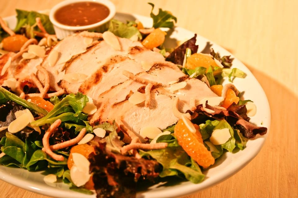 Asian Chicken Salad is one of the salads we feature in our store each day.