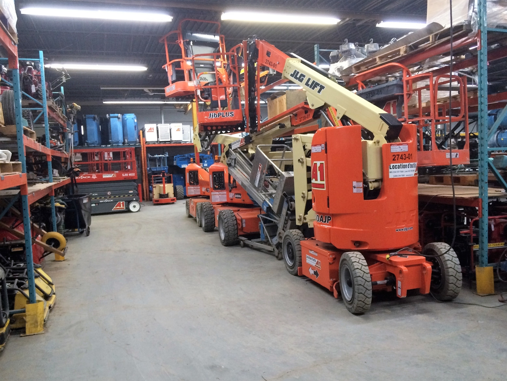 Equipment Rentals Inc à Saint-Laurent