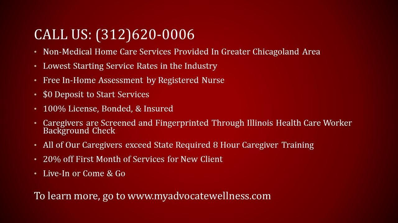 Advocate Wellness Non-Medical Home Care Company