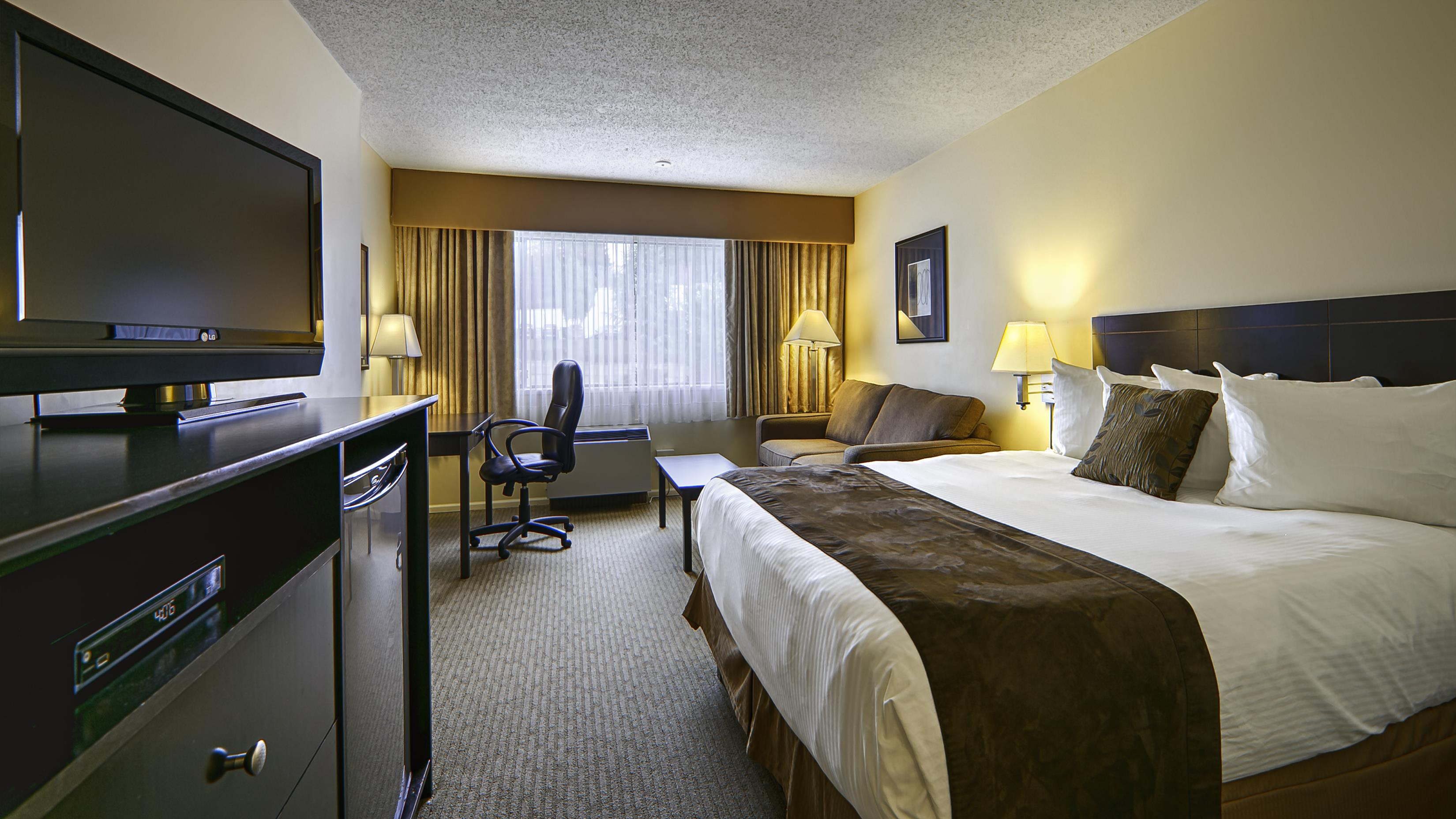 Best Western Cowichan Valley Inn in Duncan: King Guest Room