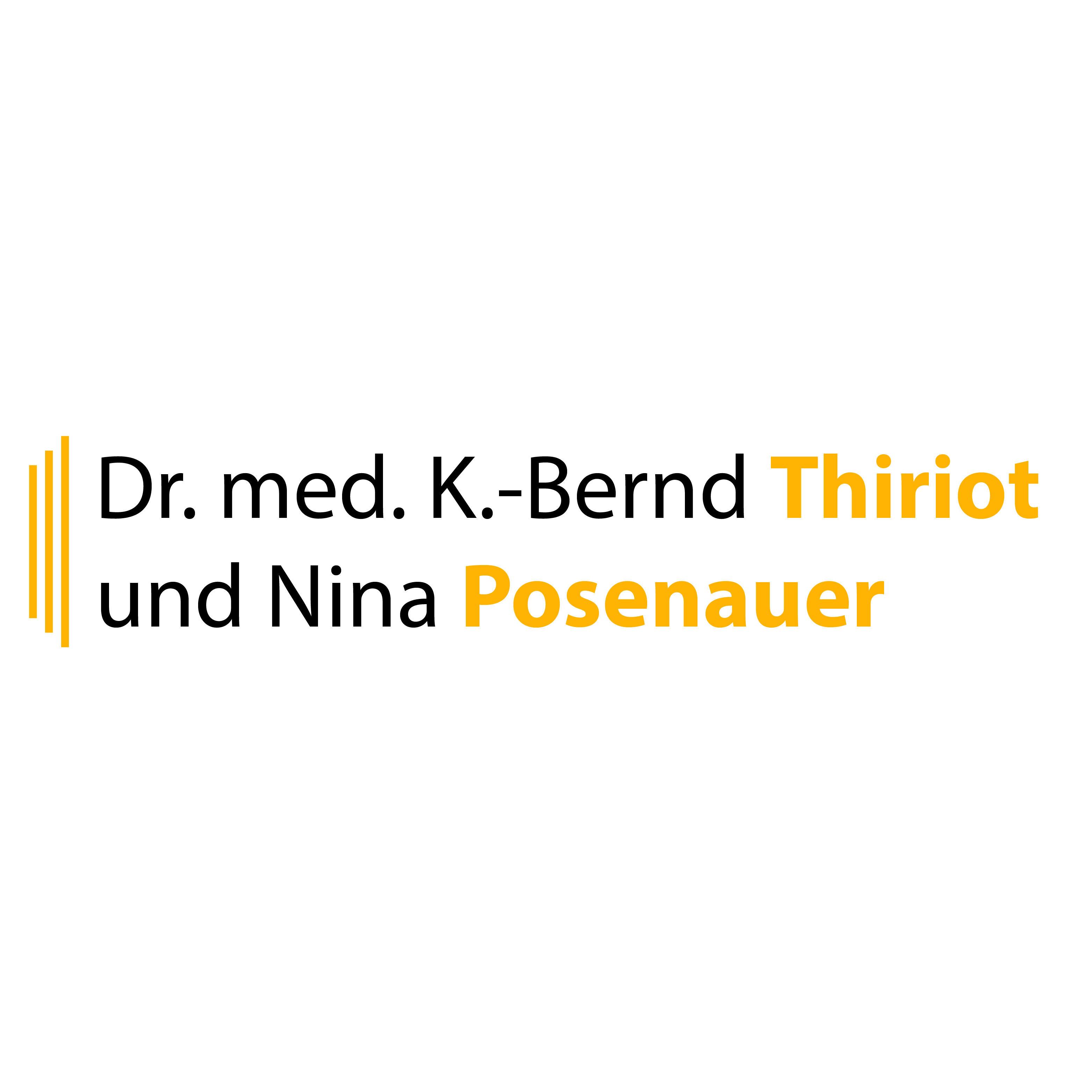 Logo von Dr. med. K.- Bernd Thiriot und Nina Posenauer
