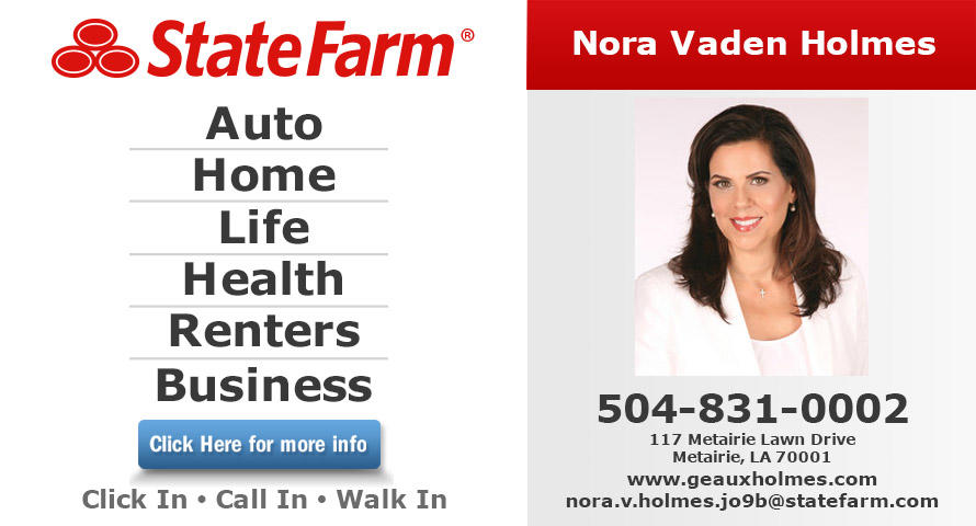 Nora Vaden Holmes - State Farm Insurance Agent image 0