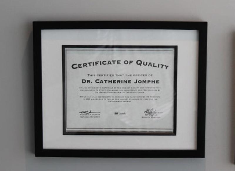 Dr Catherine Jomphe Orthodontiste à Boucherville