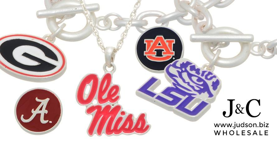 Wholesale officially licensed collegiate jewelry.