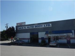 Nick's Auto Body Ltd in North Vancouver