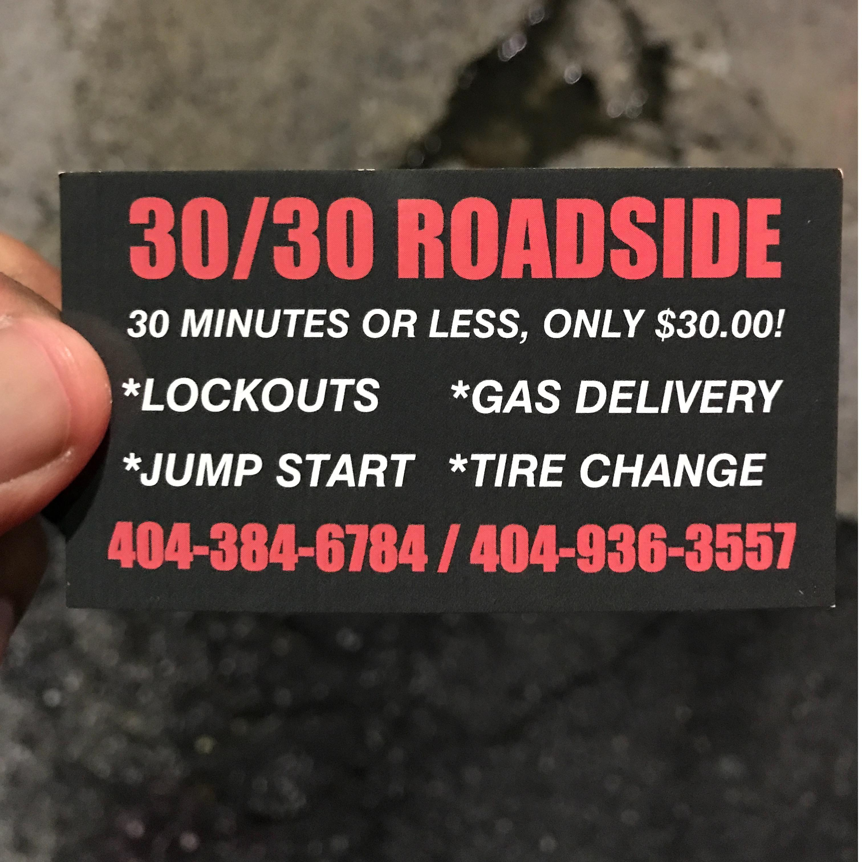 3030 Atlanta Roadside Assistance
