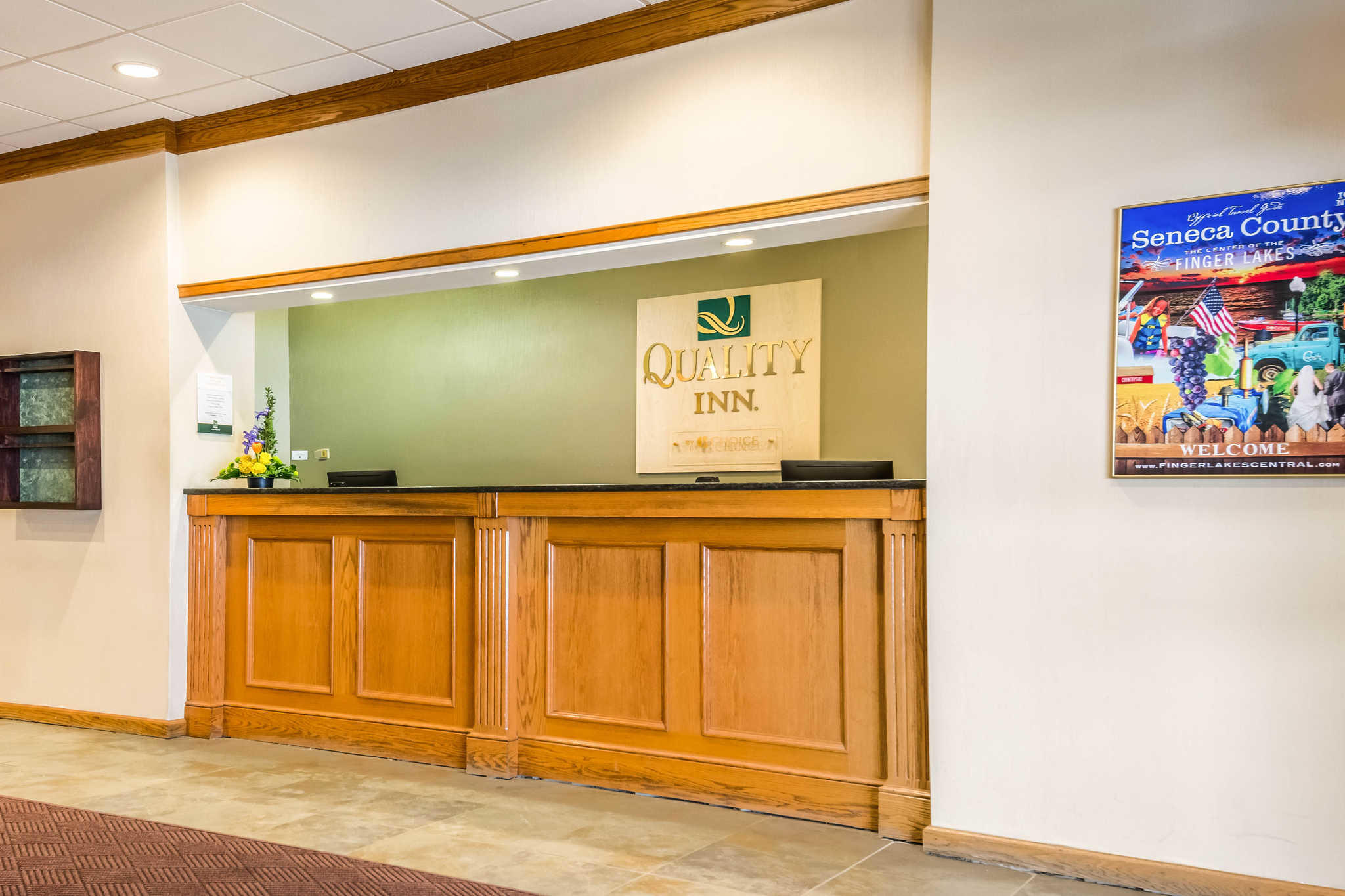 Quality Inn near Finger Lakes and Seneca Falls image 1