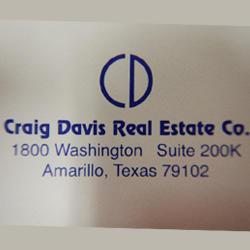 CRAIG DAVIS REAL ESTATE COMPANY