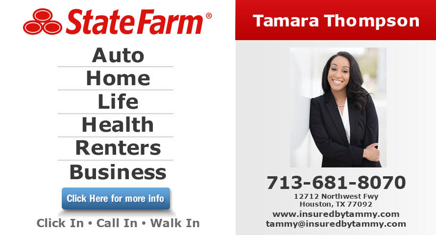 Tamara Thompson - State Farm Insurance Agent image 0